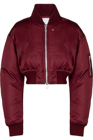 Bottega Veneta Cropped down bomber jacket