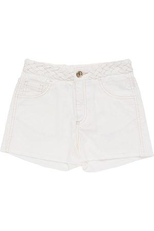 Chloé Cotton Denim Shorts