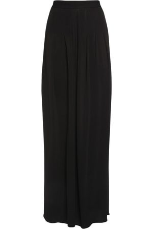 Tom Ford Viscose Crepe Jersey Wide Leg Pants