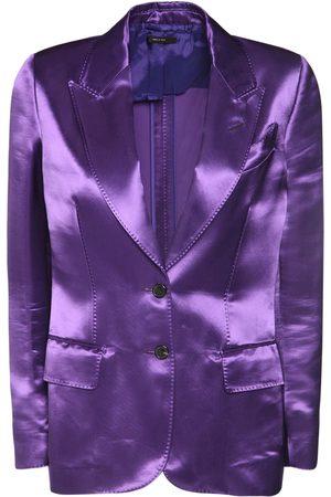 Tom Ford Heavy Viscose Satin Jacket