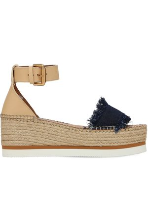 See by Chloé 80mm Glyn Leather & Wedges