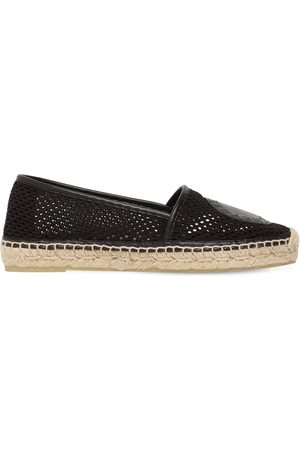Stella McCartney 10mm Selene Woven Mesh Espadrilles