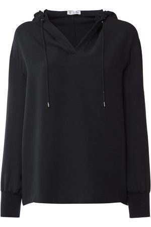 Loro Piana Hooded Silk Cady V Neck Shirt