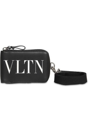 VALENTINO GARAVANI Vltn Leather Neck Wallet