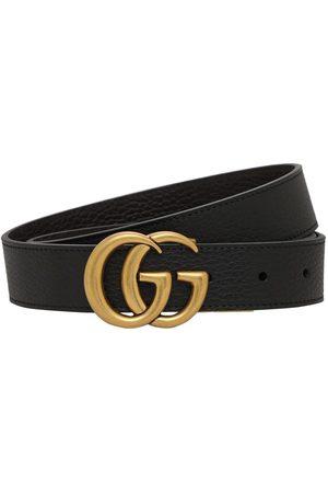 Gucci Mænd Bælter - 3cm Gg Reversible Leathers Belt