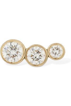 SOPHIE BILLE BRAHE Croissant Trois Diamond Mono Earring