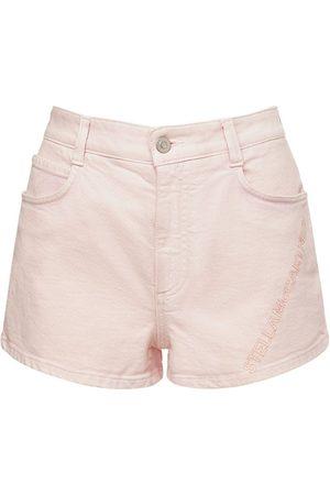 Stella McCartney Organic Cotton Denim Shorts
