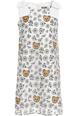 Moschino All Over Print Organza Dress