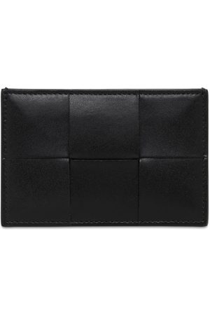 Bottega Veneta Maxi Intreccio Urban Leather Card Holder