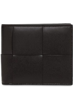 Bottega Veneta Maxi Intreccio Leather Billfold Wallet