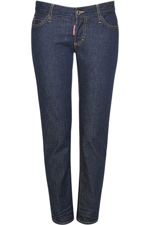 Dsquared2 Icon Jennifer Crop Cotton Jeans