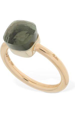 Pomellato Nudo 18kt Ring W/ Prasiolite