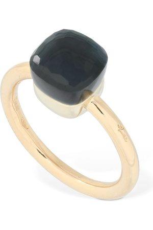 Pomellato Nudo 18kt Thin Ring W/ Topaz