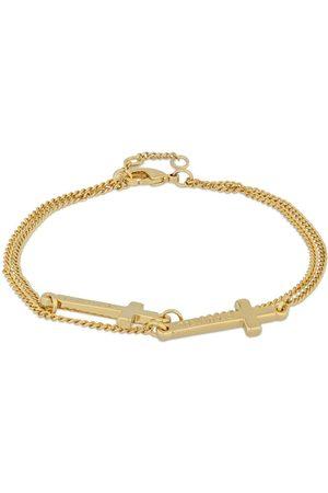 Dsquared2 Jesus Double Chain Bracelet