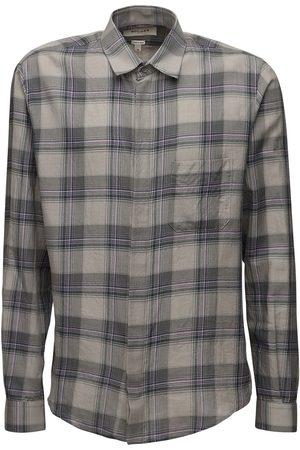 Rochas Raffaella Check Cotton Shirt