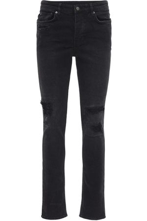 KSUBI Boneyard Cotton Denim Slim Fit Jeans