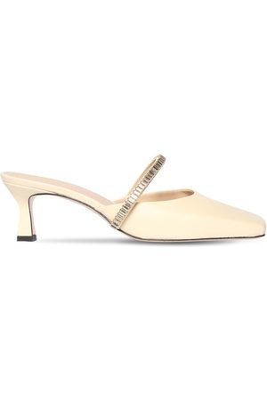 Wandler 55mm Isa Leather Mules