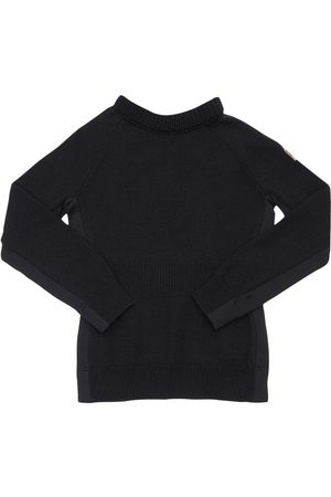 Moncler Two Tone Wool Knit Sweater