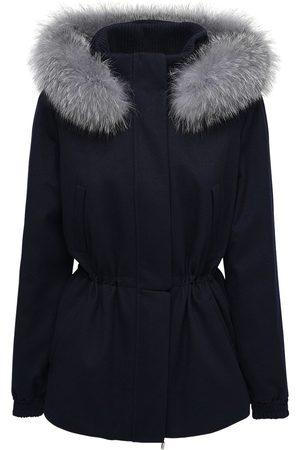 Loro Piana Cashmere Parka W/fox Fur