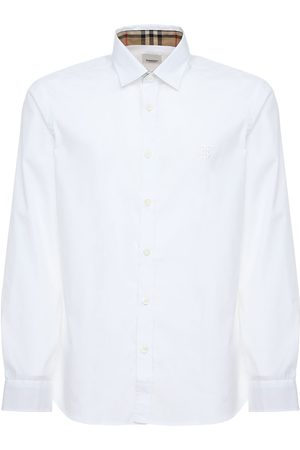 Burberry Sherwood Stretch Cotton Poplin Shirt