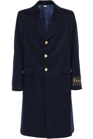 Gucci Label Eco Cashmere Wool Coat