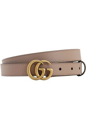 Gucci 20mm Gg Marmont Leather Belt