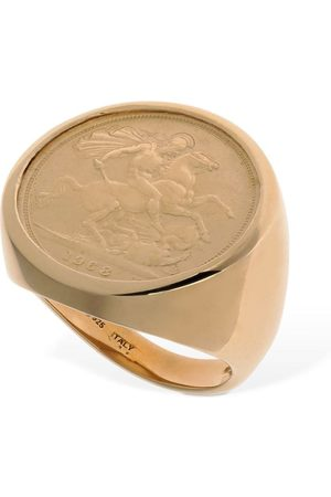 Bottega Veneta Horseman Thick Round Ring