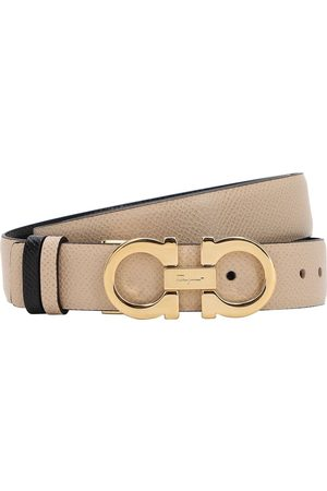 SALVATORE FERRAGAMO Kvinder Bælter - 2.5cm Reversible Leather Belt