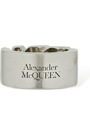 Alexander McQueen Identity Chain Snake & Tag Ring