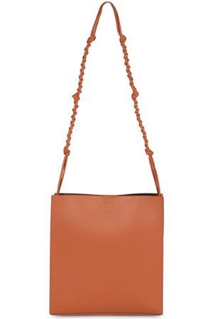 Jil Sander Medium Tangle Leather Tote Bag