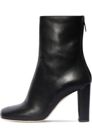 PARIS TEXAS 95mm Leather Ankle Boots