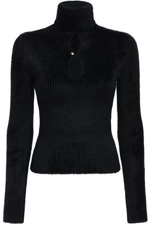 Moncler Genius Chenille Knit Sweater W/cut Out