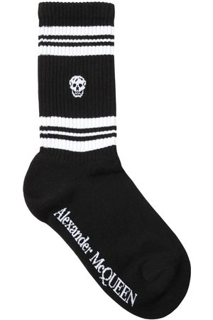 Alexander McQueen Kvinder Strømper - Skull Cotton Blend Socks