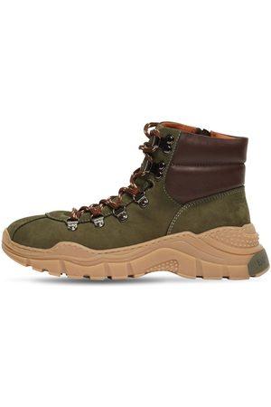 Emporio Armani Leather Boots