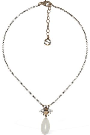Gucci Bee Motif Charm Necklace