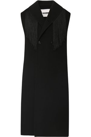 Jil Sander Soft Cashmere Sleeveless Collar