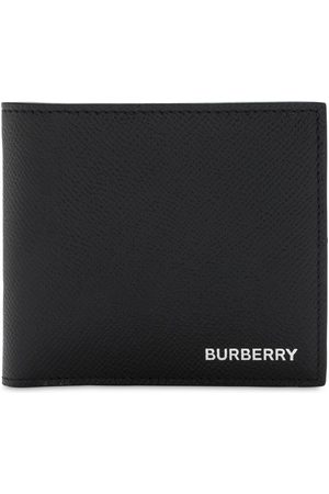 Burberry Grain Leather Billfold Coin Wallet