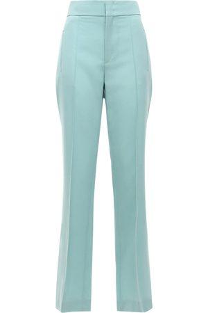 Isabel Marant Lokia Tailored Wool Straight Pants