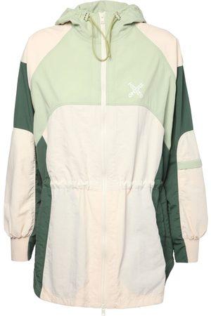 Kenzo Color Block Nylon Windbreaker Jacket