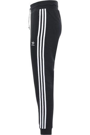adidas Logo Slim Cotton Blend Sweatpants