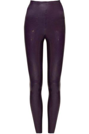 Saint Laurent High Waist Stretch Skinny Leggings