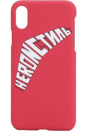 Heron Preston Logo Print Iphone X/xs Cover