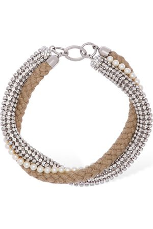 Miu Miu & Imitation Pearl Necklace