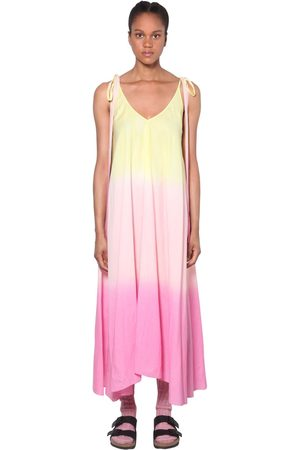 Alanui Degradé Organza Midi Dress