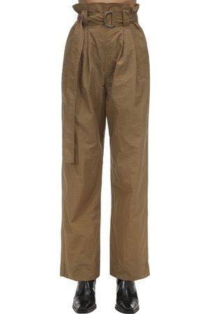 Ganni Techno Nylon Baggy Pants