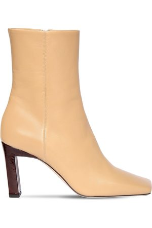 Wandler 85mm Leather Ankle Boots