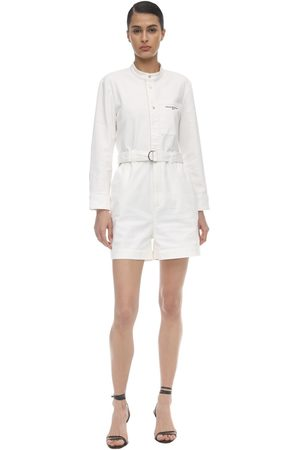 Stella McCartney Distressed Cotton Romper