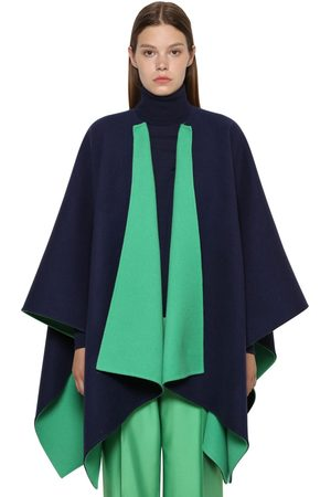 Ralph Lauren Reversible Wool Cape