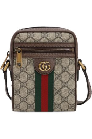 Gucci Coated Gg Supreme Ophidia Flight Bag