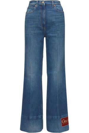 Gucci Cotton Flared Jeans
